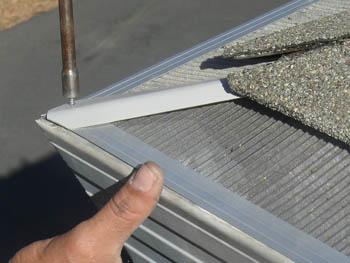 Leafblaster Gutter Guard Stainless Steel Mesh