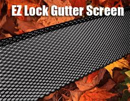 Ez Lock Rain Gutter Screens Steel Gutter Screen Ez Lock